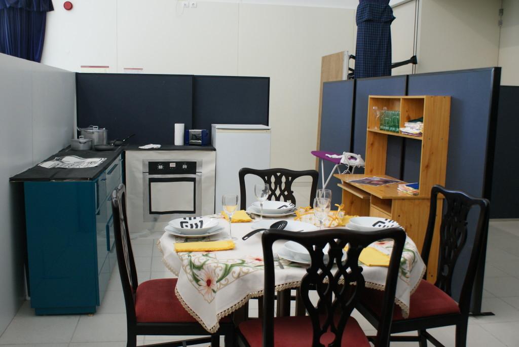 Casa para família de refugiados
