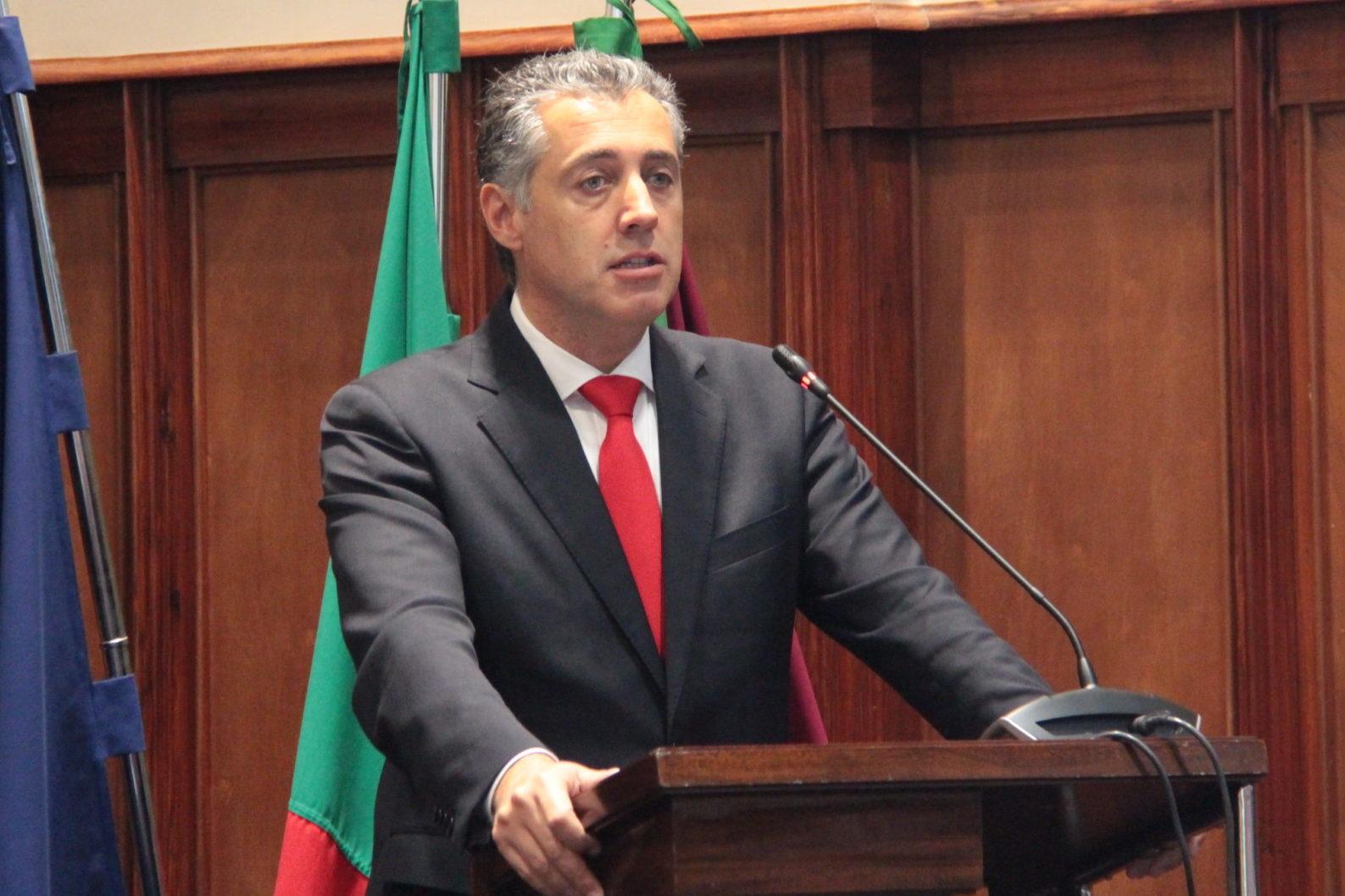 Celso Ferreira, presidente da Câmara Municipal de Paredes