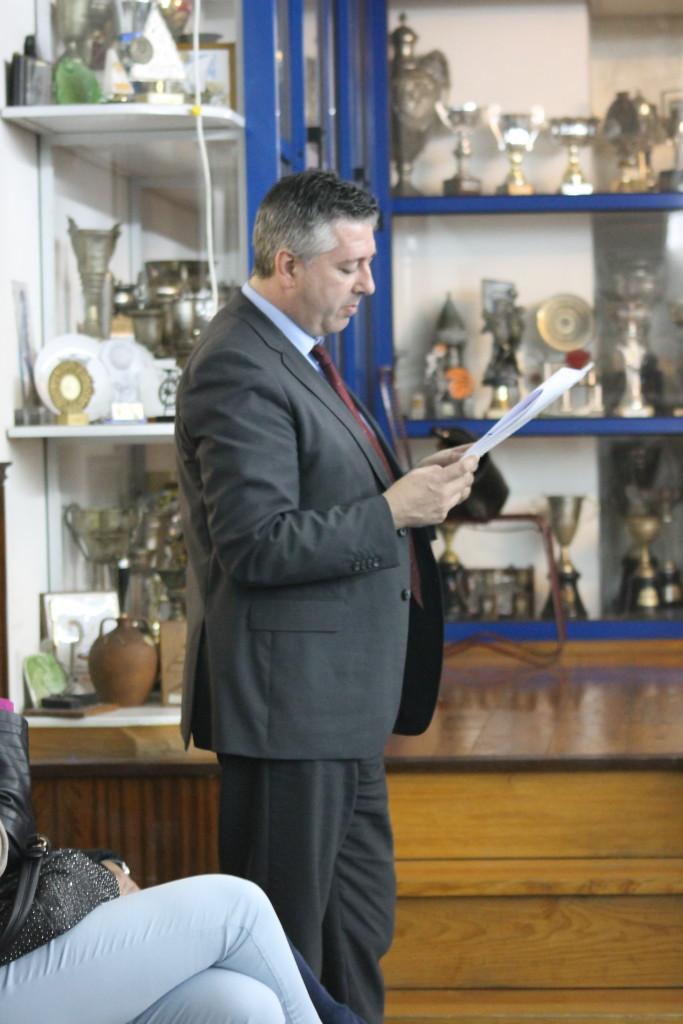 Paulo Sousa, presidente da direcção cessante
