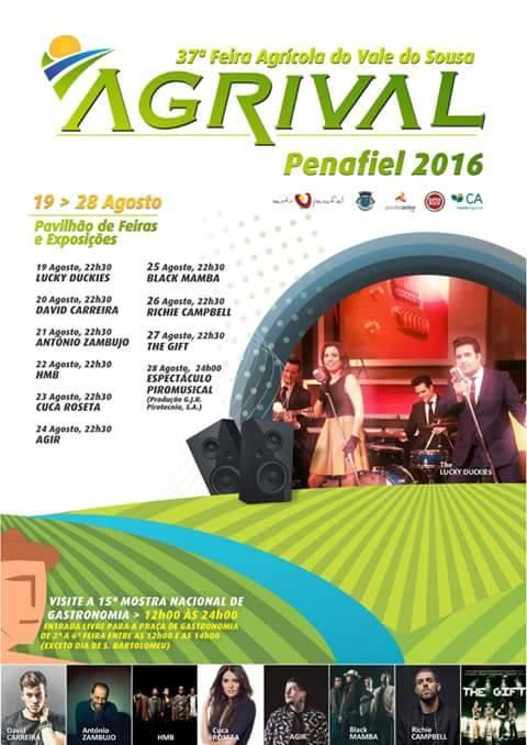 Cartaz Agrival 2016