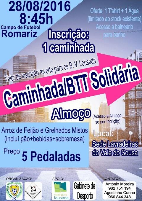 Caminhada Solidária Romariz