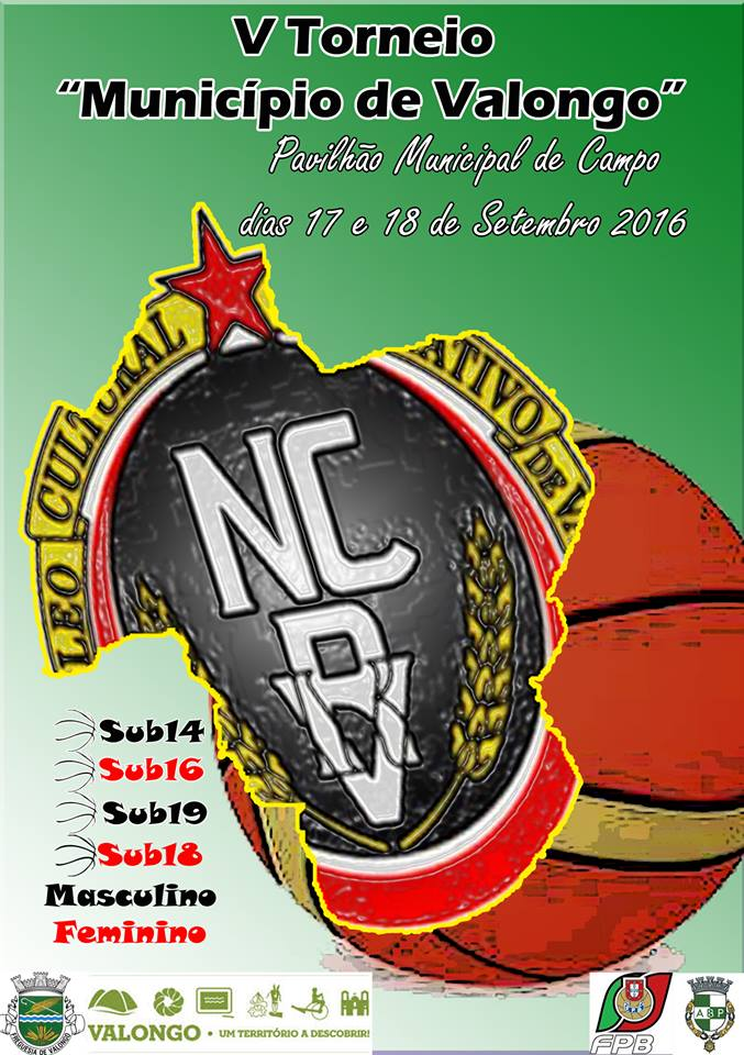 ... o «V Torneio de Basquetebol Município de Valongo»é dirigido a atletas  dos escalões de sub14 6359e5cae6536