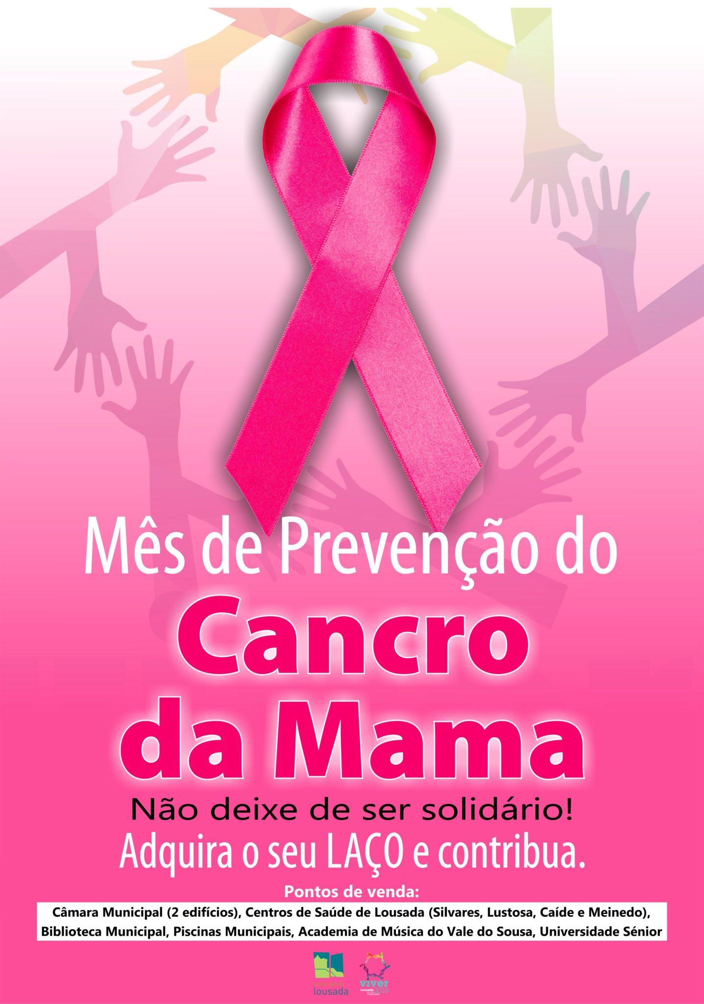 Lousada aderiu à luta contra o cancro com a Campanha Laço Rosa ... 9c4a2c0f28ec7
