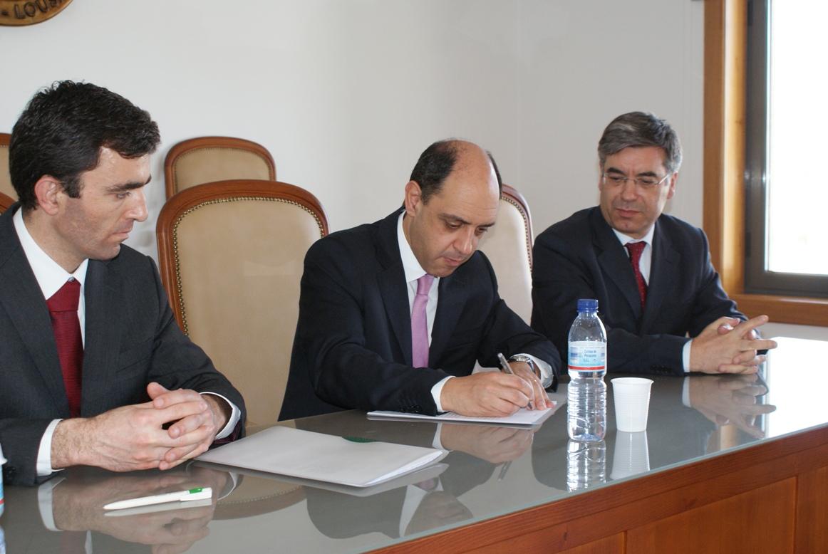 Manuel Pizarro assinou protocolo em 2011