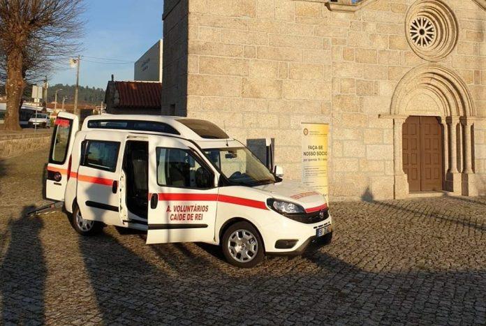 Associação de Voluntários de Caíde de Rei prestes a comemorar 30 anos adquiriu 11.ª viatura de transporte de doentes | Verdadeiro Olhar